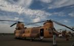Columbia Helicopters prépare trois hélicoptères CH-47Ds pour les Forces Royales Air