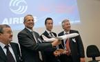 Farnborough: Tunisair confirme sa commande de 16 avions Airbus