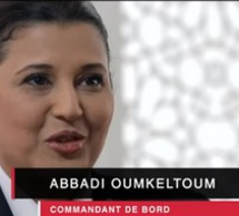Oum Keltoum Abbadi - Commandant de bord à Royal Air Maroc
