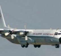 Crash d'un avion militaire à Bouhanifia en Algérie