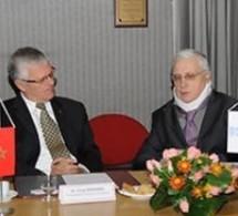 Accord de partenariat signé entre la RAM et l'Académie de l'Air et de l'Espace