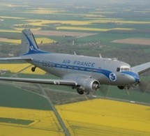 Un DC3 d'Air France reprend la route vers Dakar