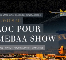 Marrakech accueille MEBAA show Morocco, le salon de l'aviation d'affaires les 25 et 26 septembre