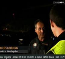 Solar Impulse: Atterrissage réussi à Rabat, direction Ouarzazate dans cinq jours
