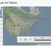 Royal Air Maroc reçoit un nouvel avion B737-800 immatriculé CN-RGM