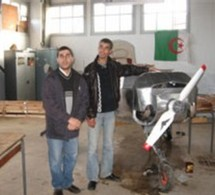 CHIRAD: Un embryon d'avion à Blida