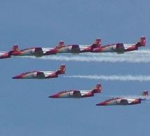 La Patrulla Águila participe pour la première fois au Marrakech Airshow