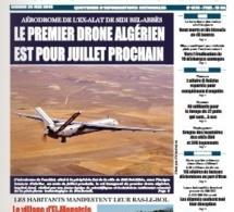 L'Algérie compte sur la Chine pour développer son premier drone