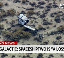 SpaceShipTwo, le vaisseau destiné au tourisme spatial explose et fait un mort