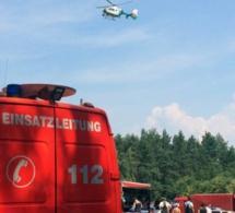 Crash d'un F-16 de l'armée américaine en Allemagne