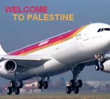 Un pilote d'Iberia annonce l'atterrissage de son avion à TelAviv en...Palestine