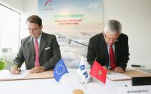 Bourget 2009: Royal Air Maroc concrétise l'achat de l'avion ATR 600