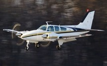 Incident sur un Beechcraft BE55 de Royal Air Maroc