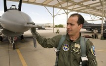 Retour des quatre premiers pilotes Marocains aux commandes de leurs F-16 Block52