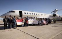 Bombardier: Global 7500 établit un record de vitesse sur un record de distance