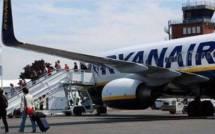 Importante réduction des vols de Ryanair vers et à partir du Maroc