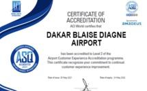 Sénégal: L'Aéroport Dakar Blaise Diagne accrédité niveau 2 par ACI ASQ Airport Customer Experience