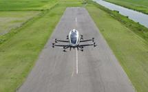 Le drone pour passagers EHang 216 testé avec succès au Japon (Vidéo)