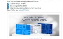 Air France : La validité des cartes de fidélité étendue à l'Algérie, le Maroc et la Tunisie