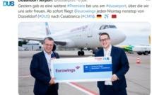 Maroc : EUROWINGS annonce de nouvelles liaisons vers Nador et Marrakech
