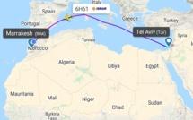 Israel lance ses premiers vols directs vers le Maroc entre Tel Aviv et Marrakech