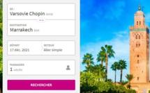 Wizzair relance sa liaison Varsovie-Marrakech deux fois par semaine