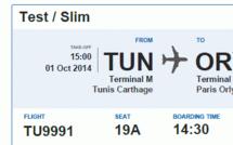 Tunisair prépare l'enregistrement en ligne à l'occasion de son 66ème anniversaire