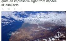 Sam Cristoforetti photographie le Maroc depuis la station Spatiale Internationale