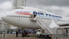 L'avion musée - B747